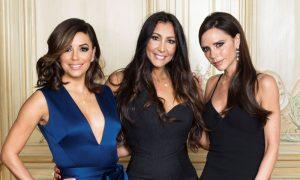 Eva Longoria, Maria Bravo & Victoria Beckham